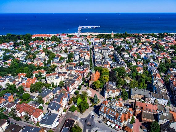 Sopot - pearl of the Baltic sea, Sheraton Sopot