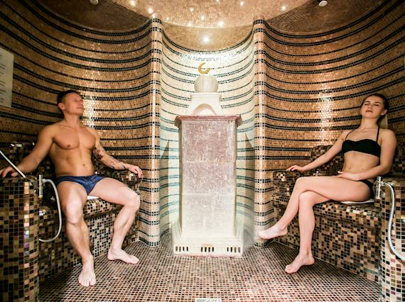 Sauna Complex for Couple in Sopot, Promotion